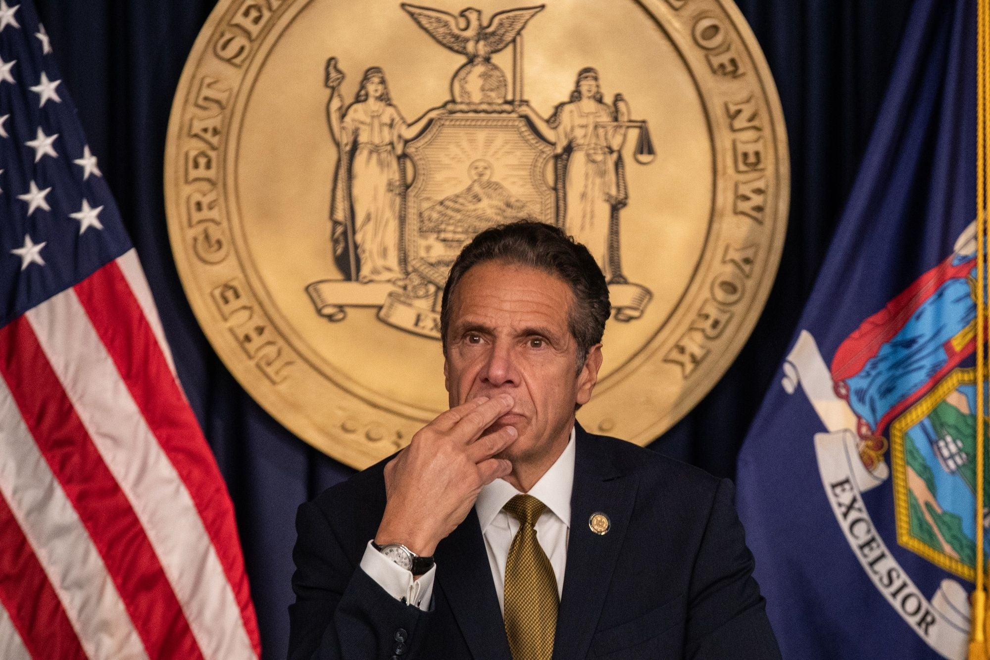 Andrew Cuomo, governor of New York.