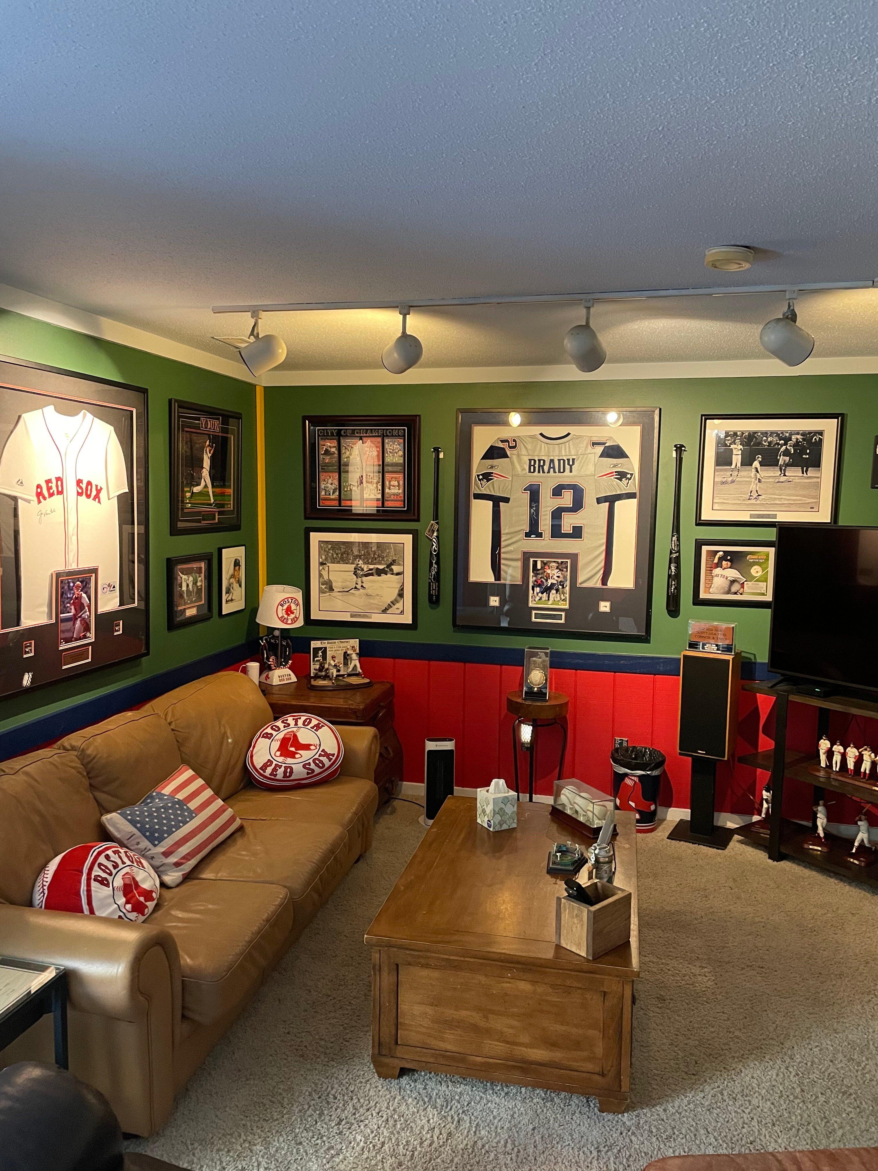 Scott Johnson Red Sox Room