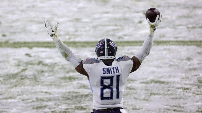 Jonnu Smith Patriots