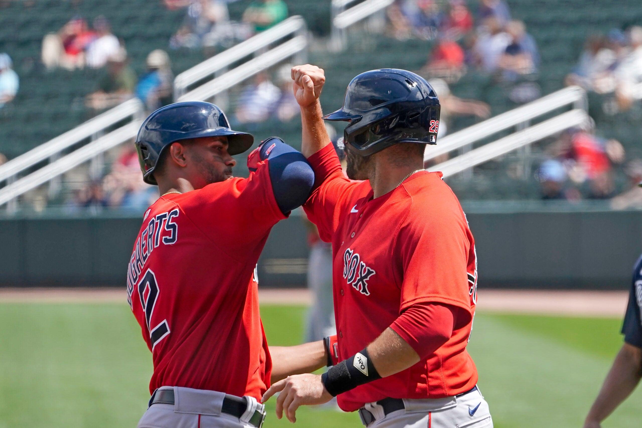 Boston Red Sox Xander Bogaerts JD Martinez