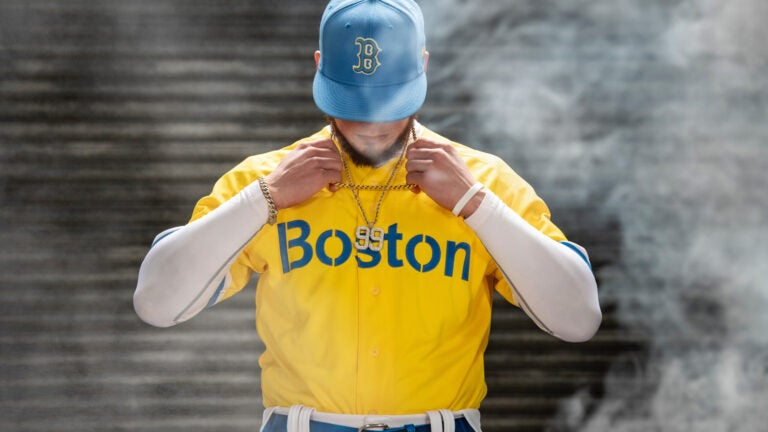 Red Sox Patriots Day Uniforms