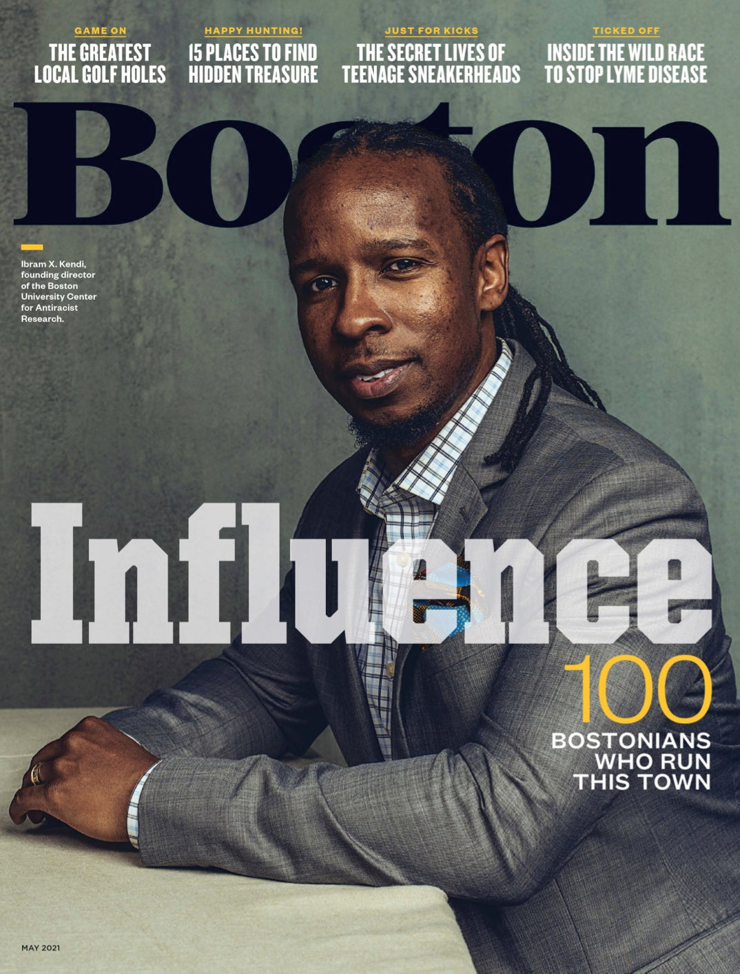 Boston magazine Power Issue cover - May 2021