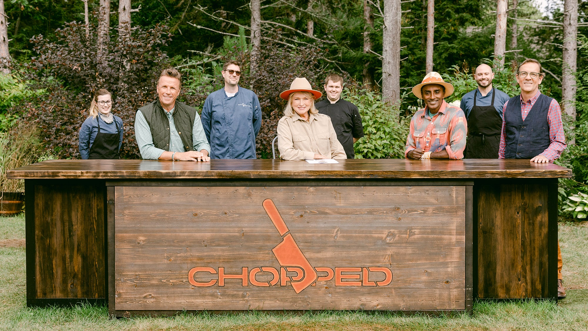 """Chopped: Martha Rules"" at Hidden Pond"