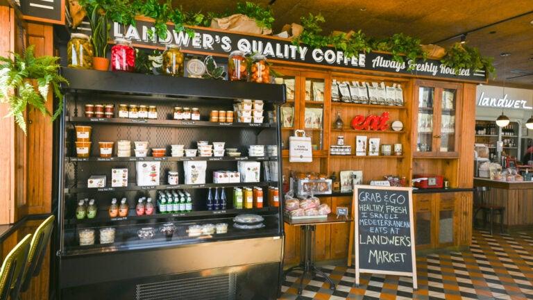 Landwer's Market at Cafe Landwer