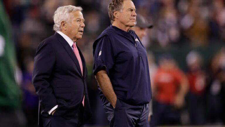 Patriots Bill Belichick draft