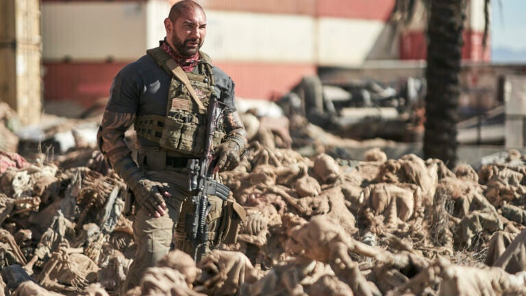 """Dave Bautista in """"Army of the Dead."""""""