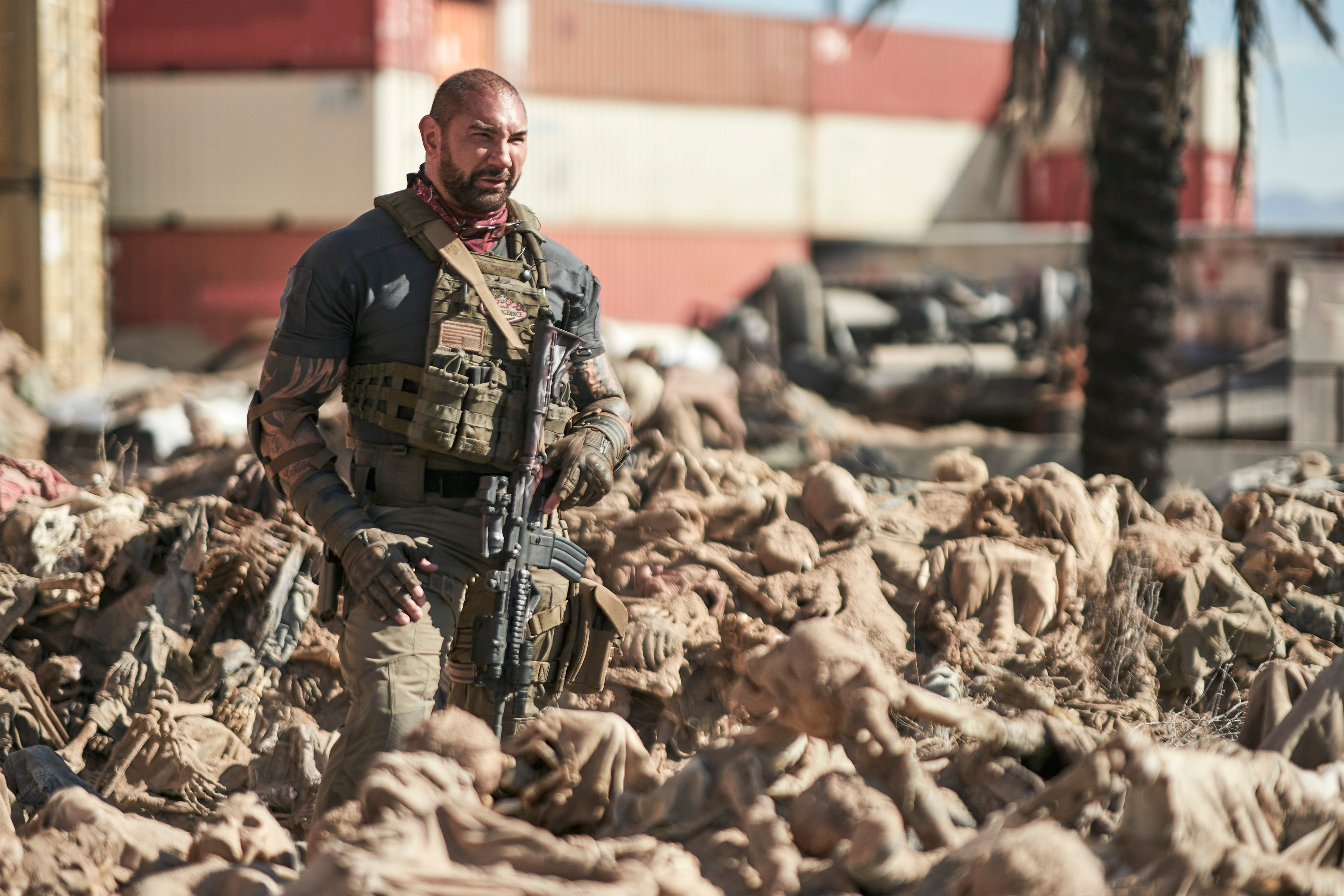 "Dave Bautista in ""Army of the Dead."""