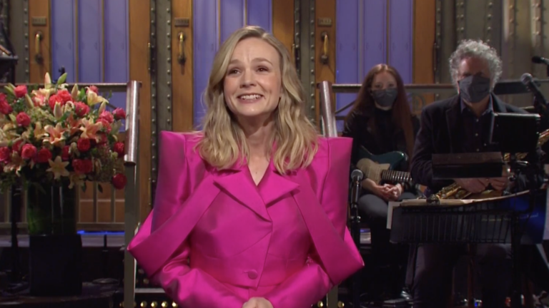 "Carey Mulligan hosts ""Saturday Night Live."""