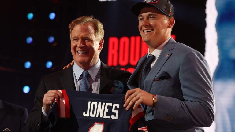 2021 NFL Draft Mac Jones Patriots