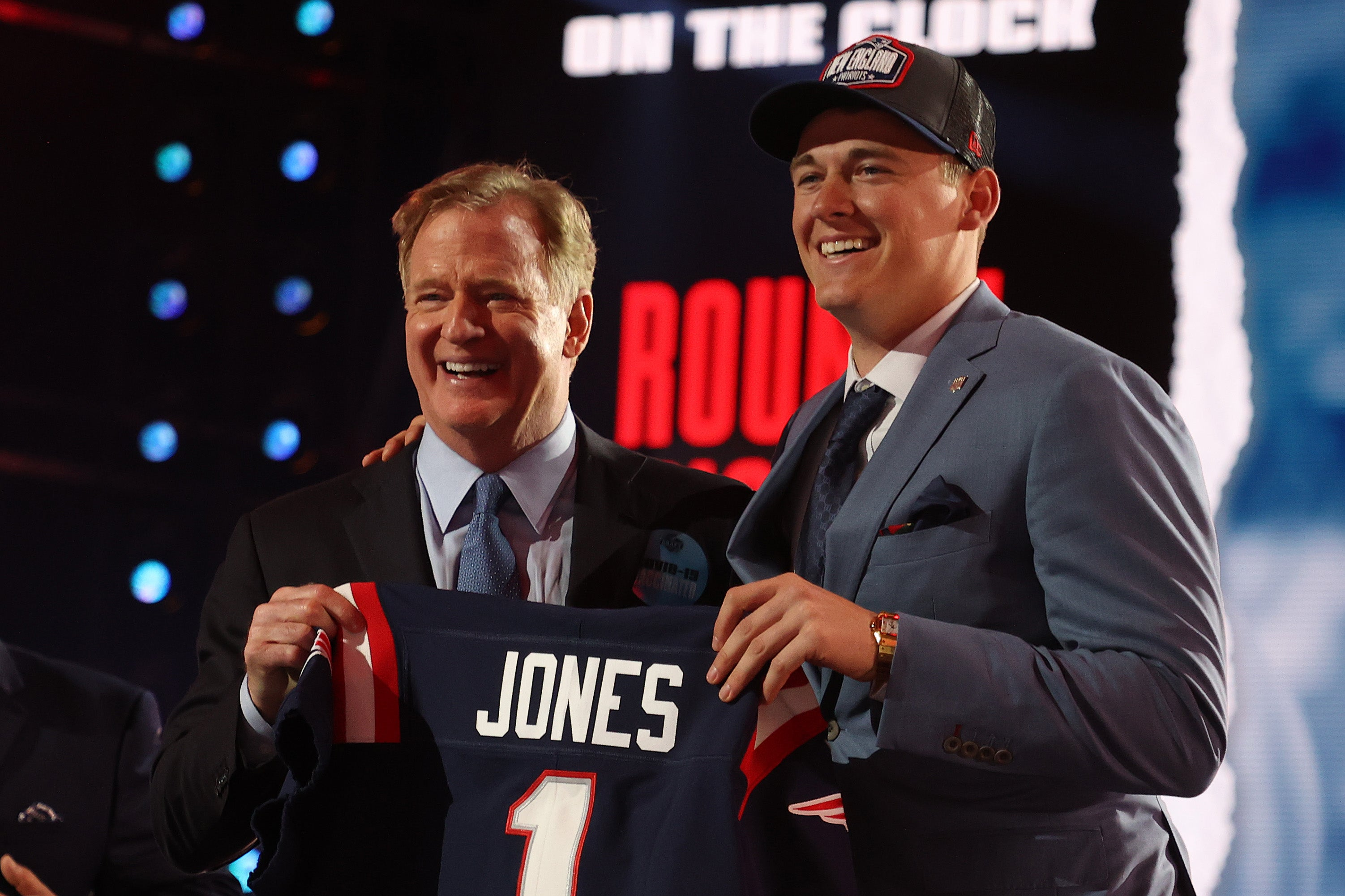 2021 NFL Draft Mac Jones Patriots