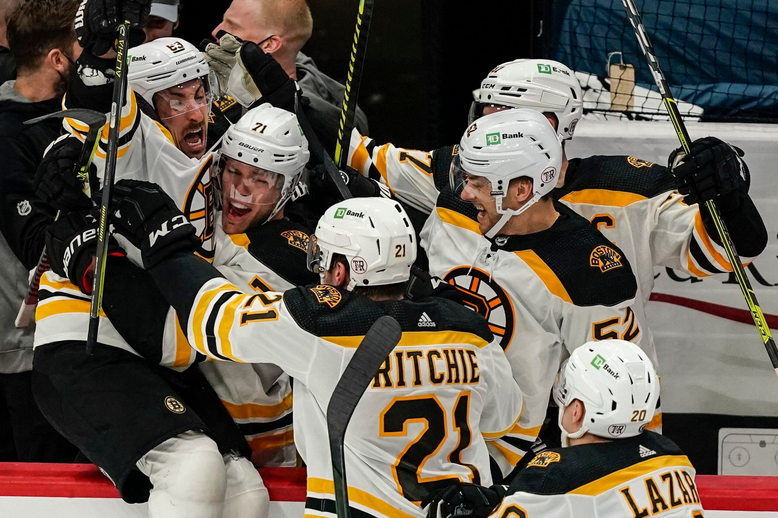 3 takeaways from the Bruins' series-tying win over the Capitals