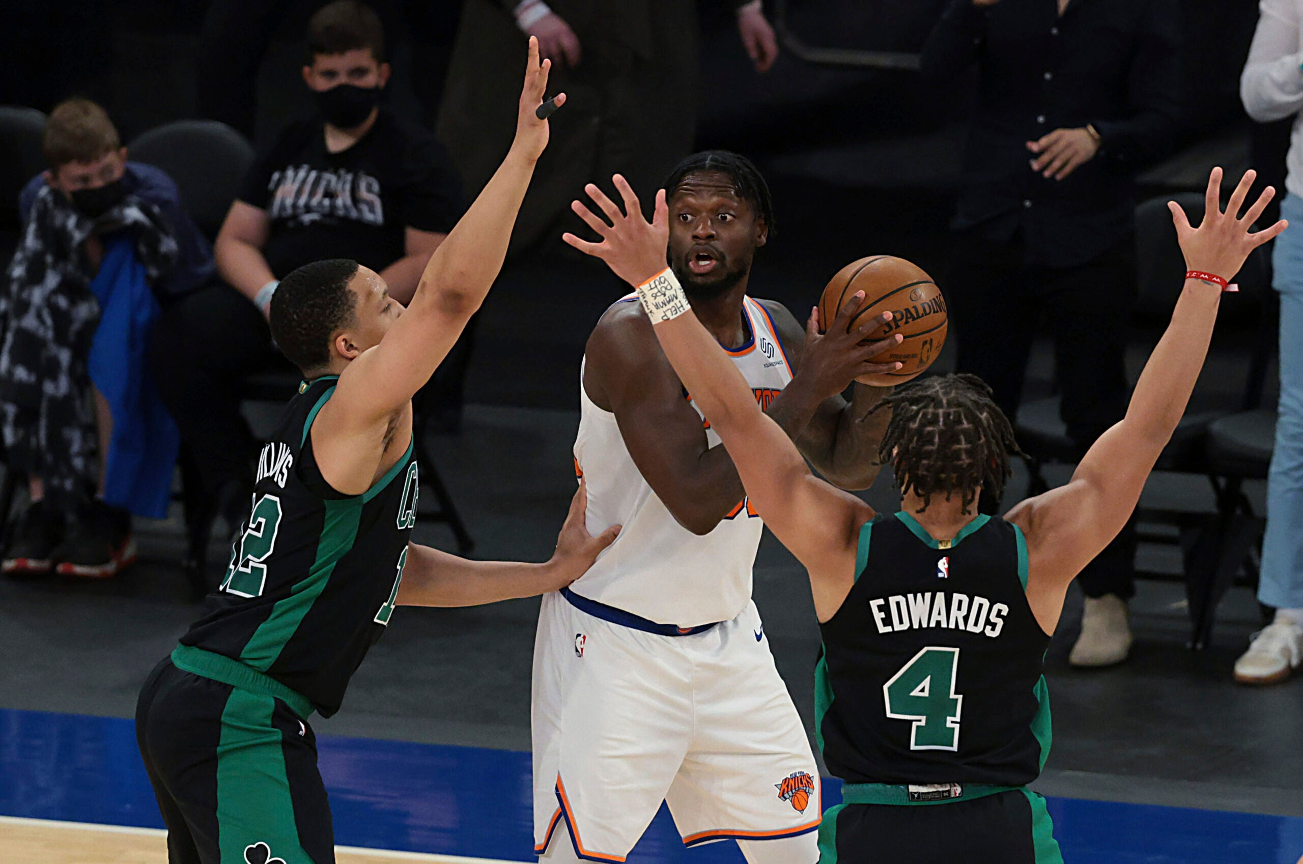 3 takeaways as short-handed Celtics close regular season with spirited loss to Knicks