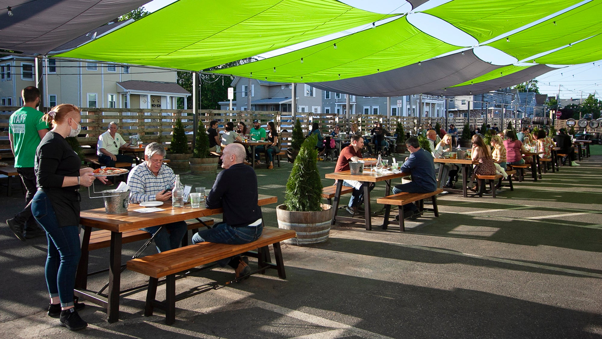 Jack's Abby Beer Garden