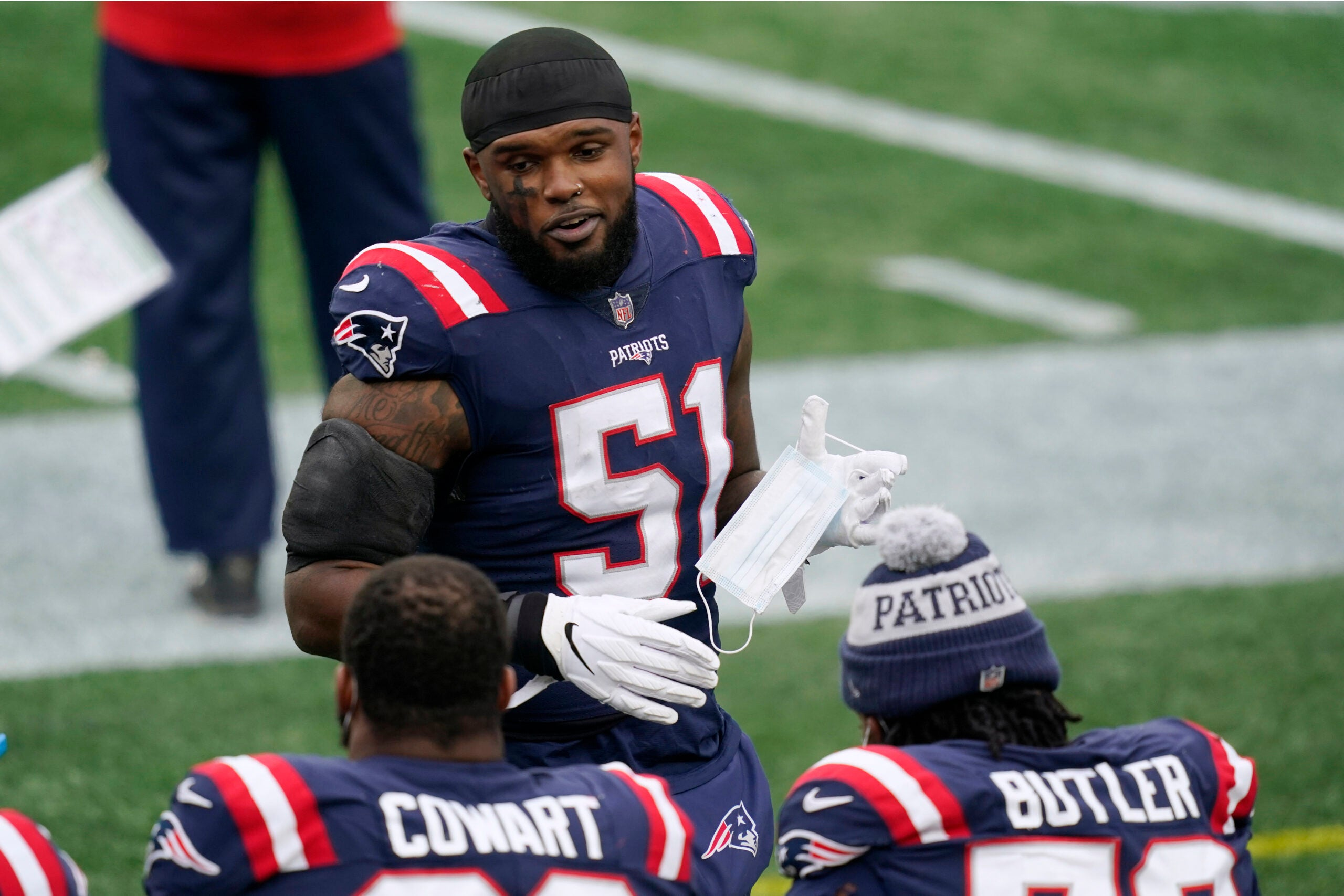 Ja'Whaun Bentley first Patriots player to switch jersey number ...