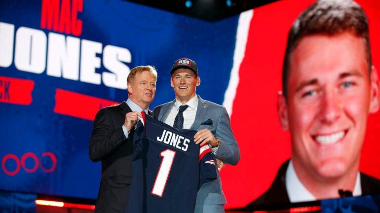 NFL Draft Mac Jones Patriots