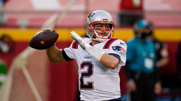 Brian Hoyer Patriots