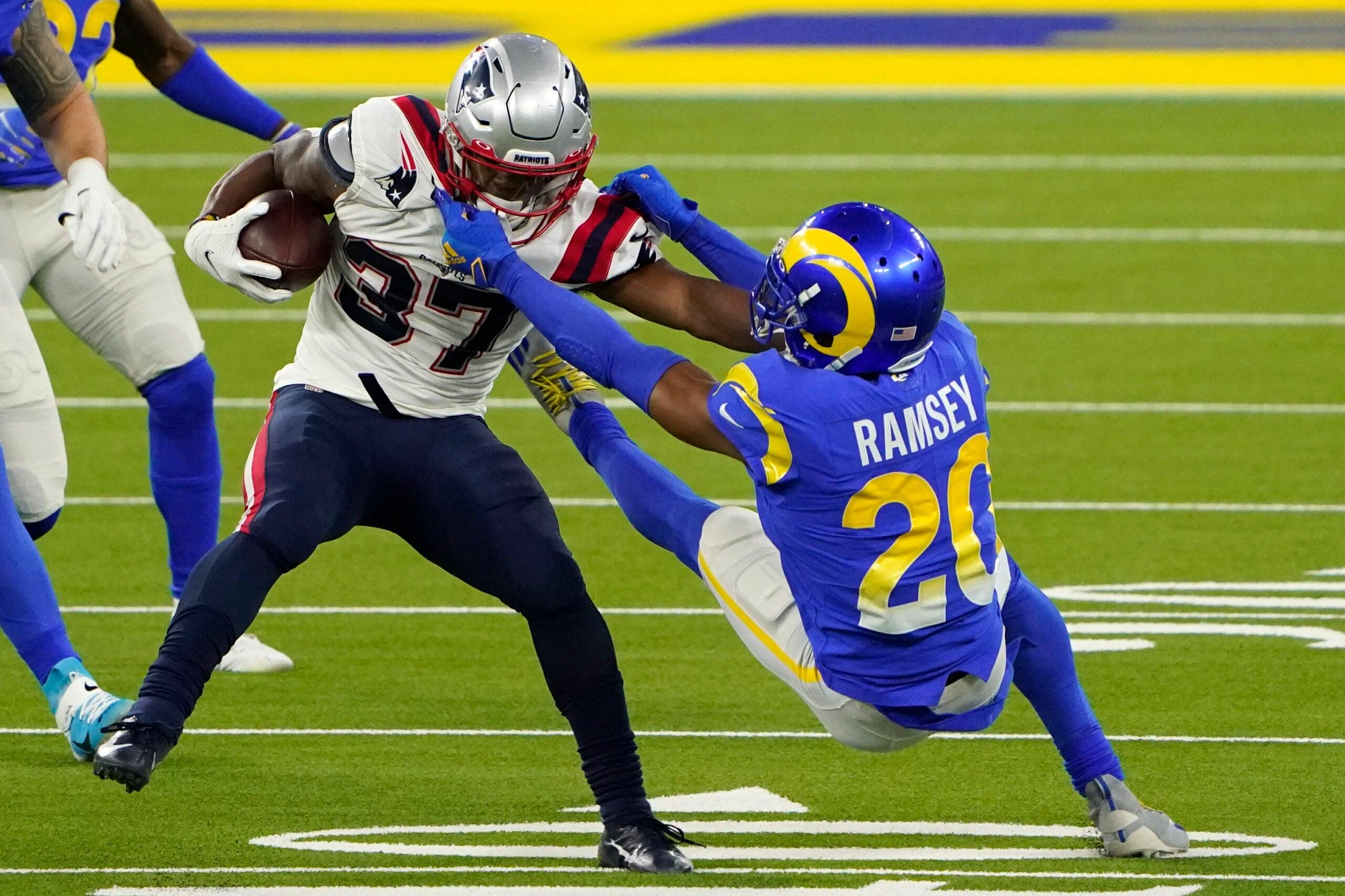 Damien Harris Patriots