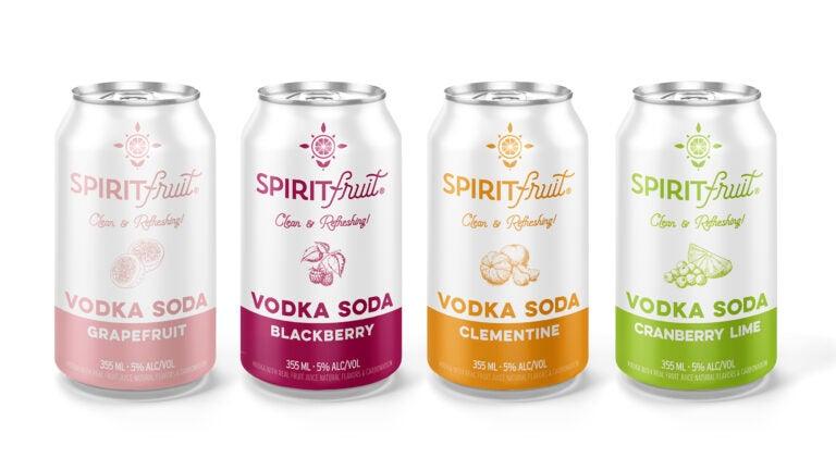 Spiritfruit vodka sodas