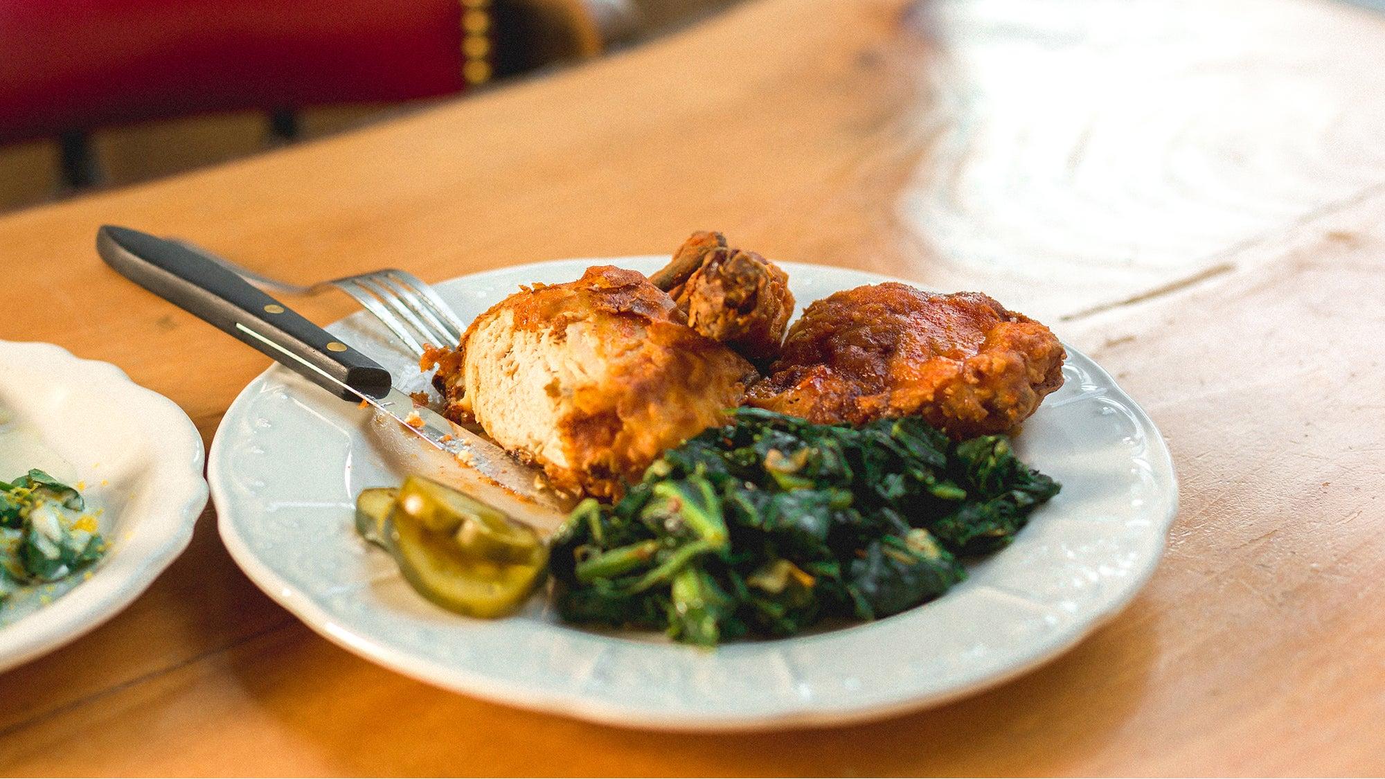 Nashville hot chicken at State Park