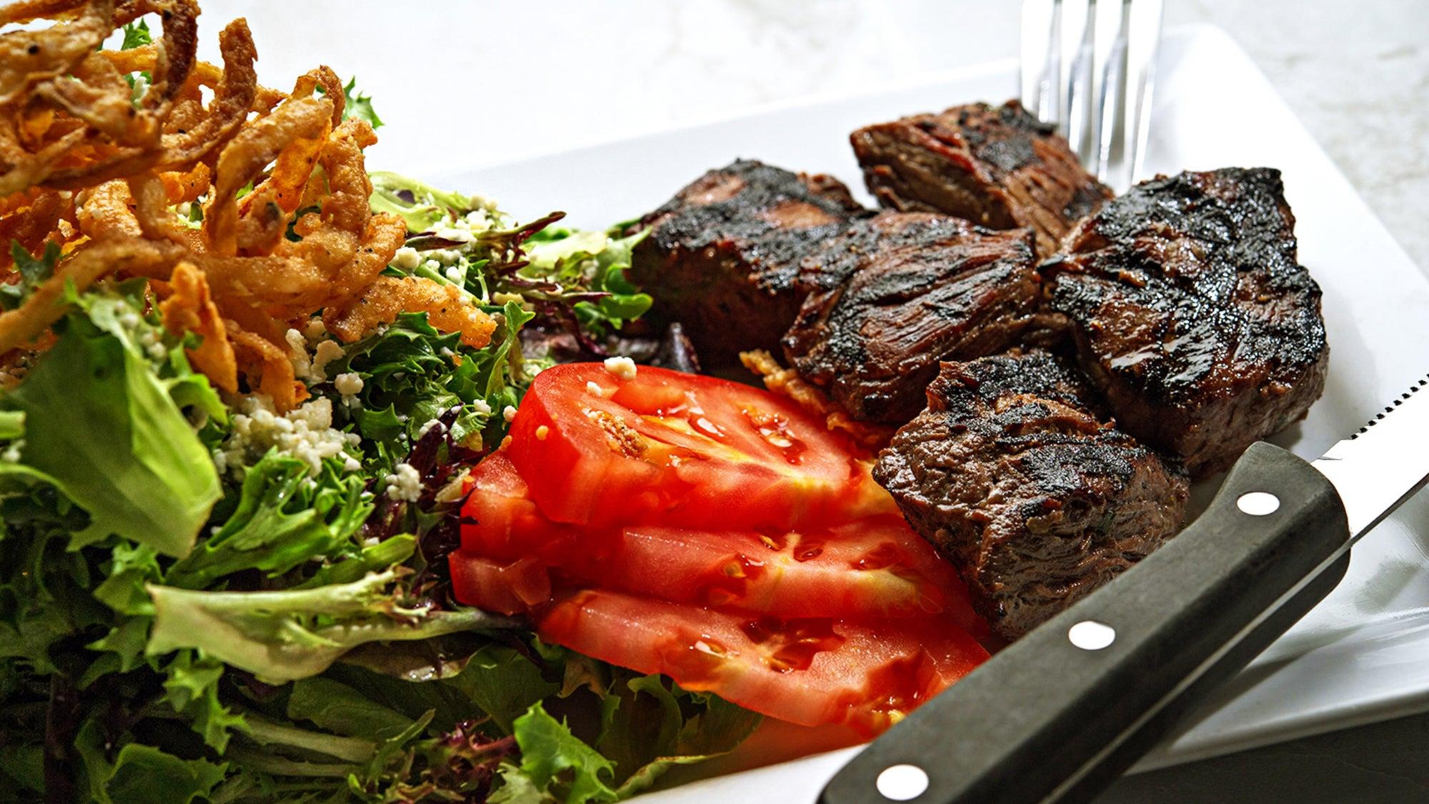 Steak salad at MJ O'Connor's