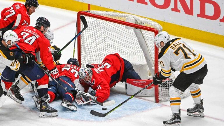 Taylor Hall Bruins Capitals