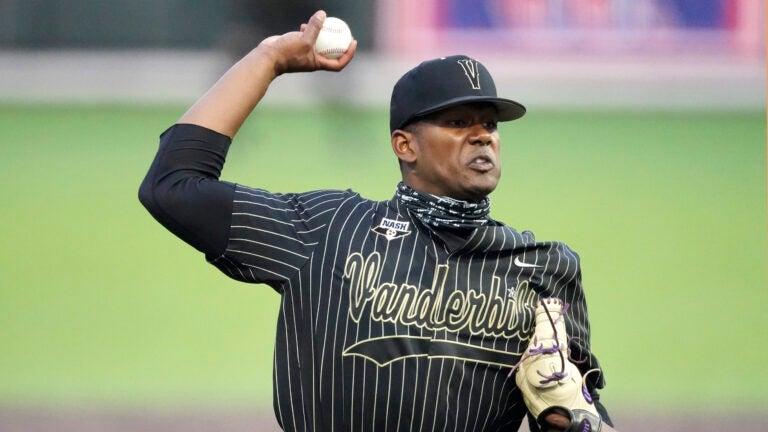 Kumar Rocker Red Sox MLB Draft