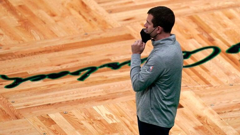 Brad Stevens Celtics Nets