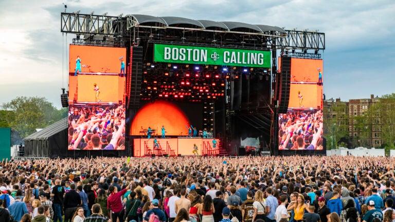 Boston Calling 2022 headliners