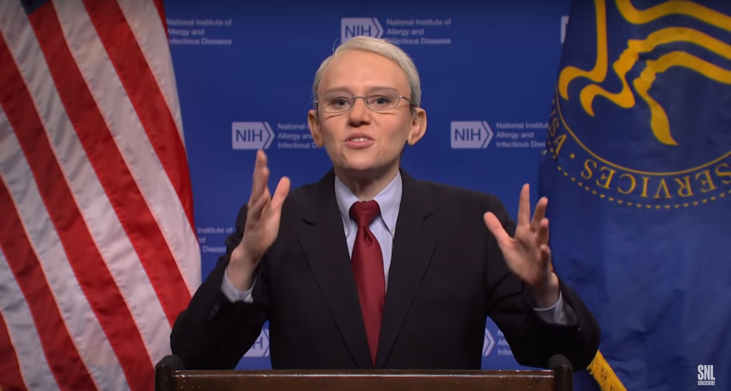 Dr. Fauci offers CDC post-vaccine guidance on 'SNL' cold open