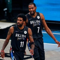 Kevin Durant Kyrie Irving Nets Celtics