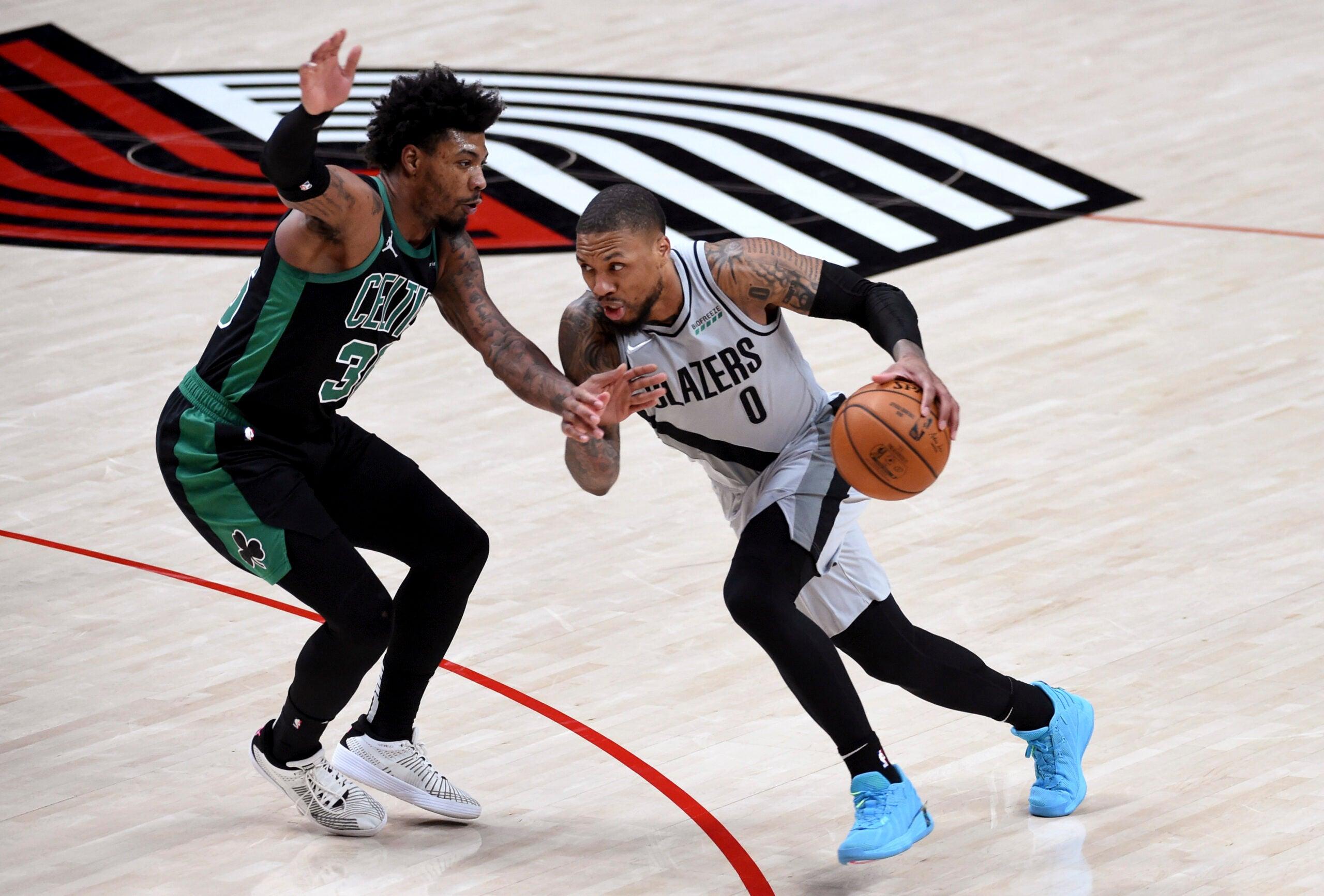 Damian Lillard Celtics