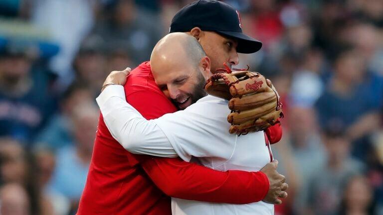 Dustin Pedroia Red Sox Alex Cora