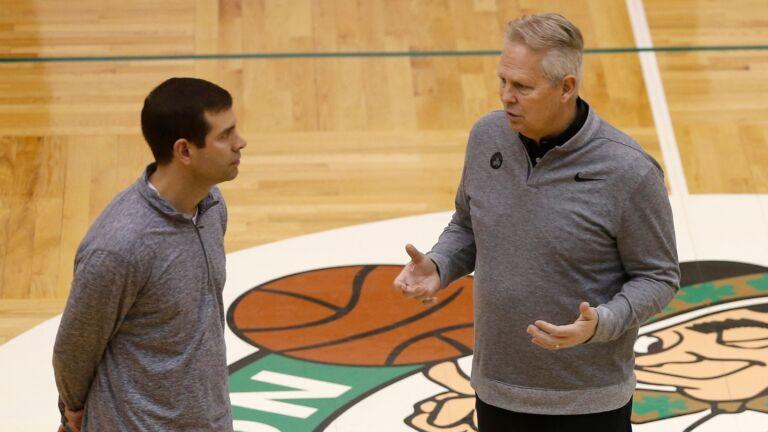 Brad Stevens Danny Ainge Celtics