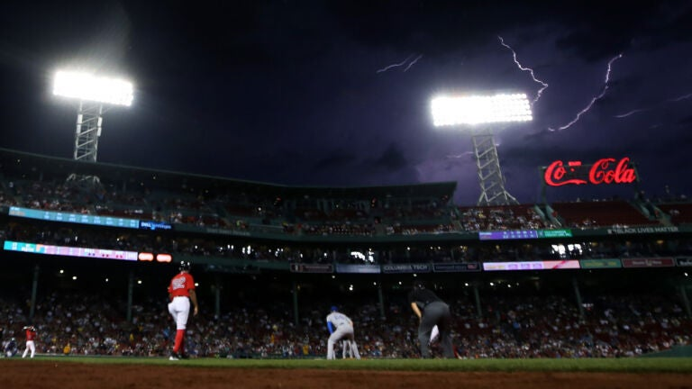 Red Sox lightning