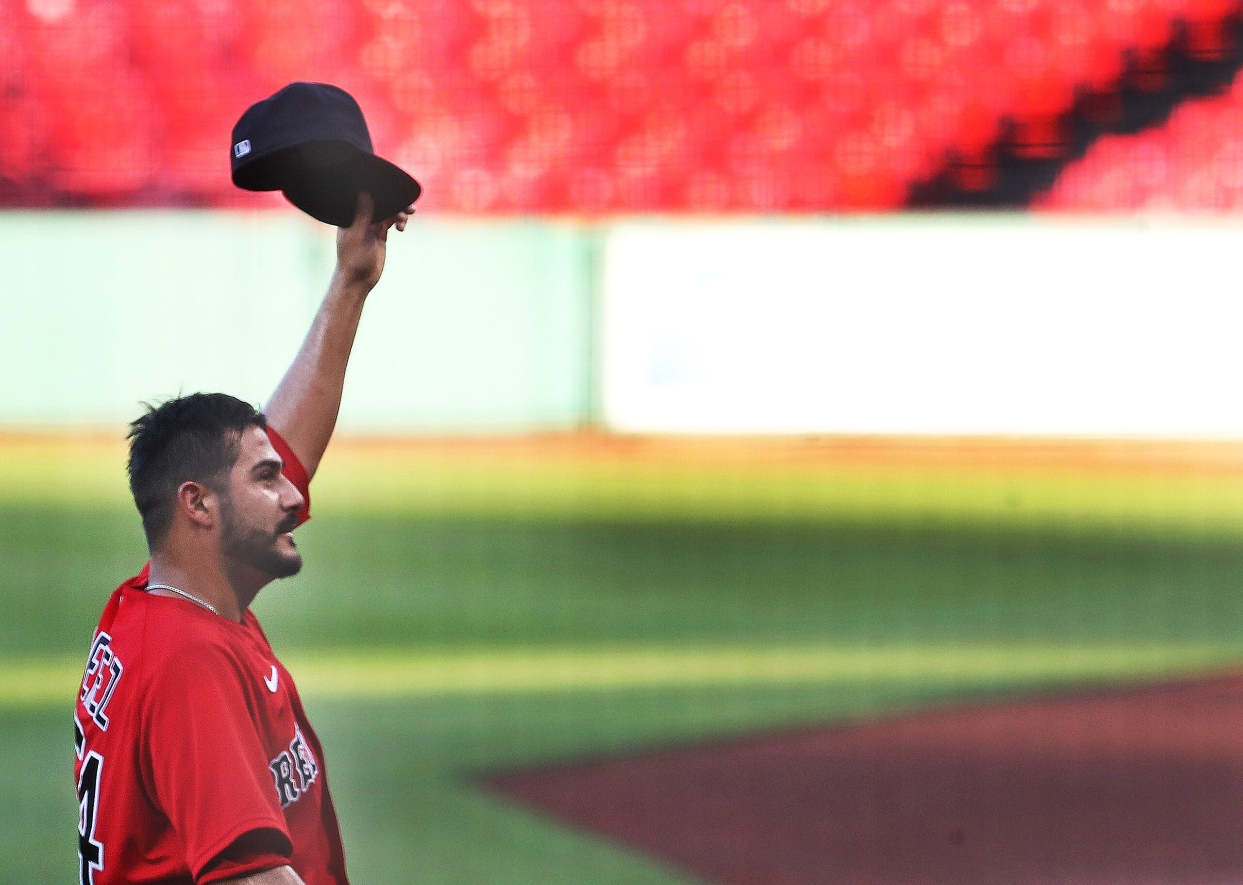 Martin Perez tipping his cap to the nonexistent crowd at Fenway Park last summer is just the sort of thing we've come to expect from a character like him.
