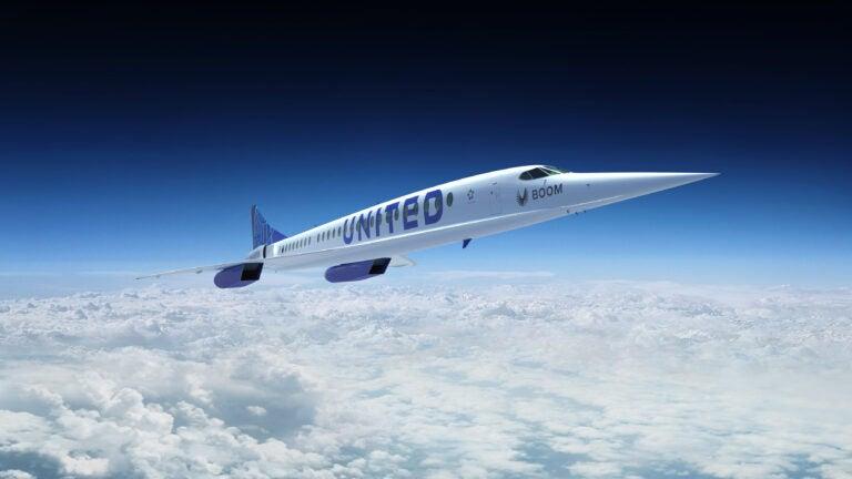 Boom Supersonic plane
