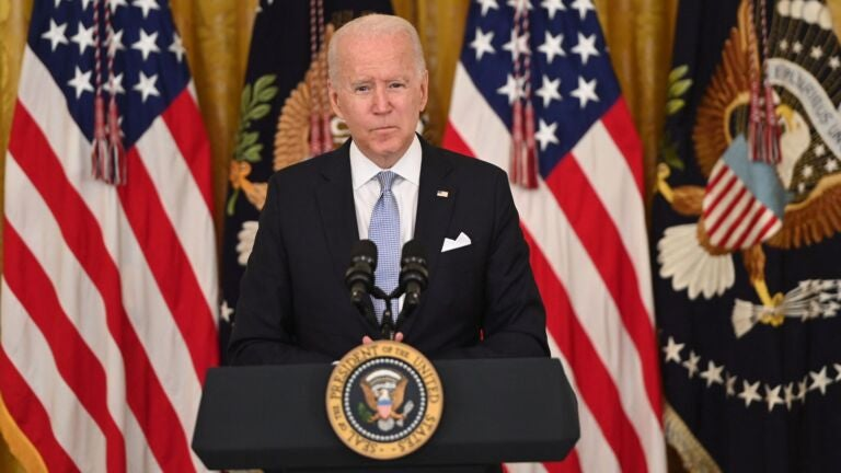 Biden pushes federal workers — hard — to get vaccinated
