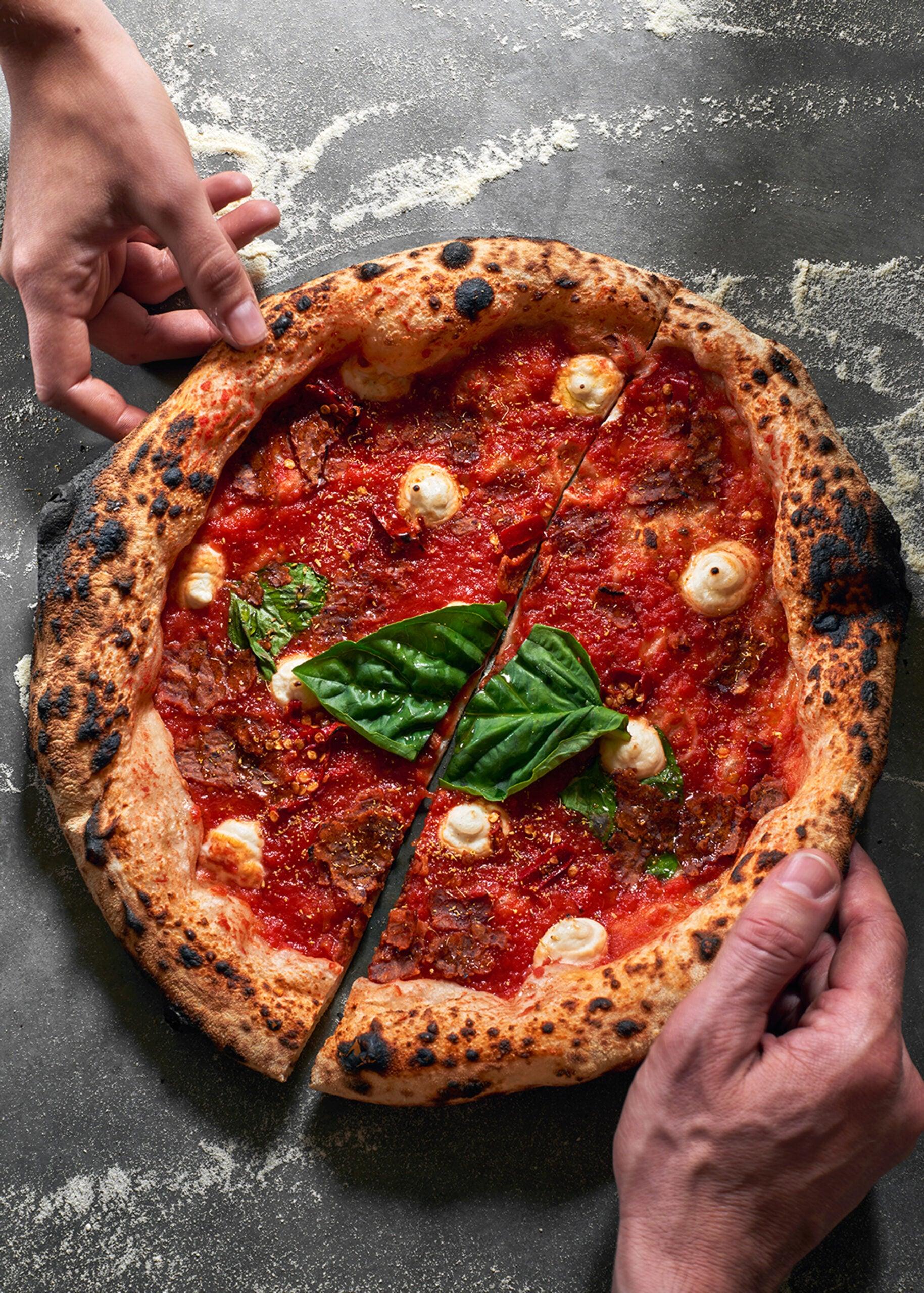 Pizza at Double Zero
