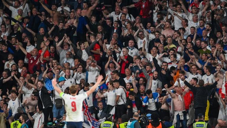 Sweet Caroline England fans