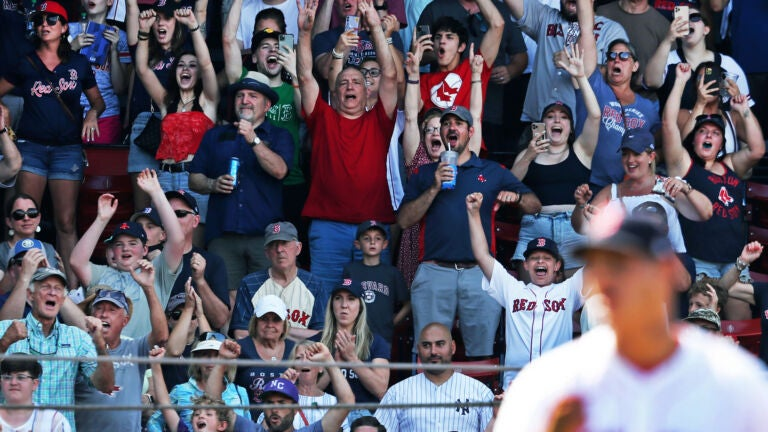 Fenway Park fans