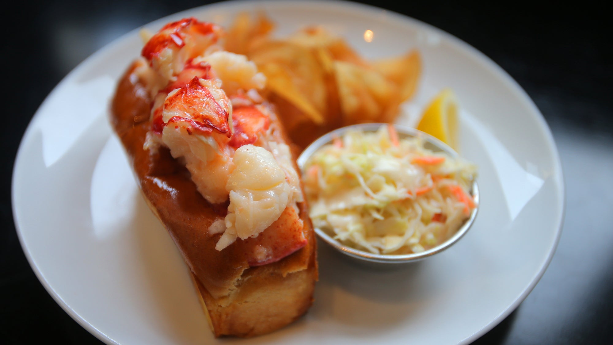Lobster roll from Row 34