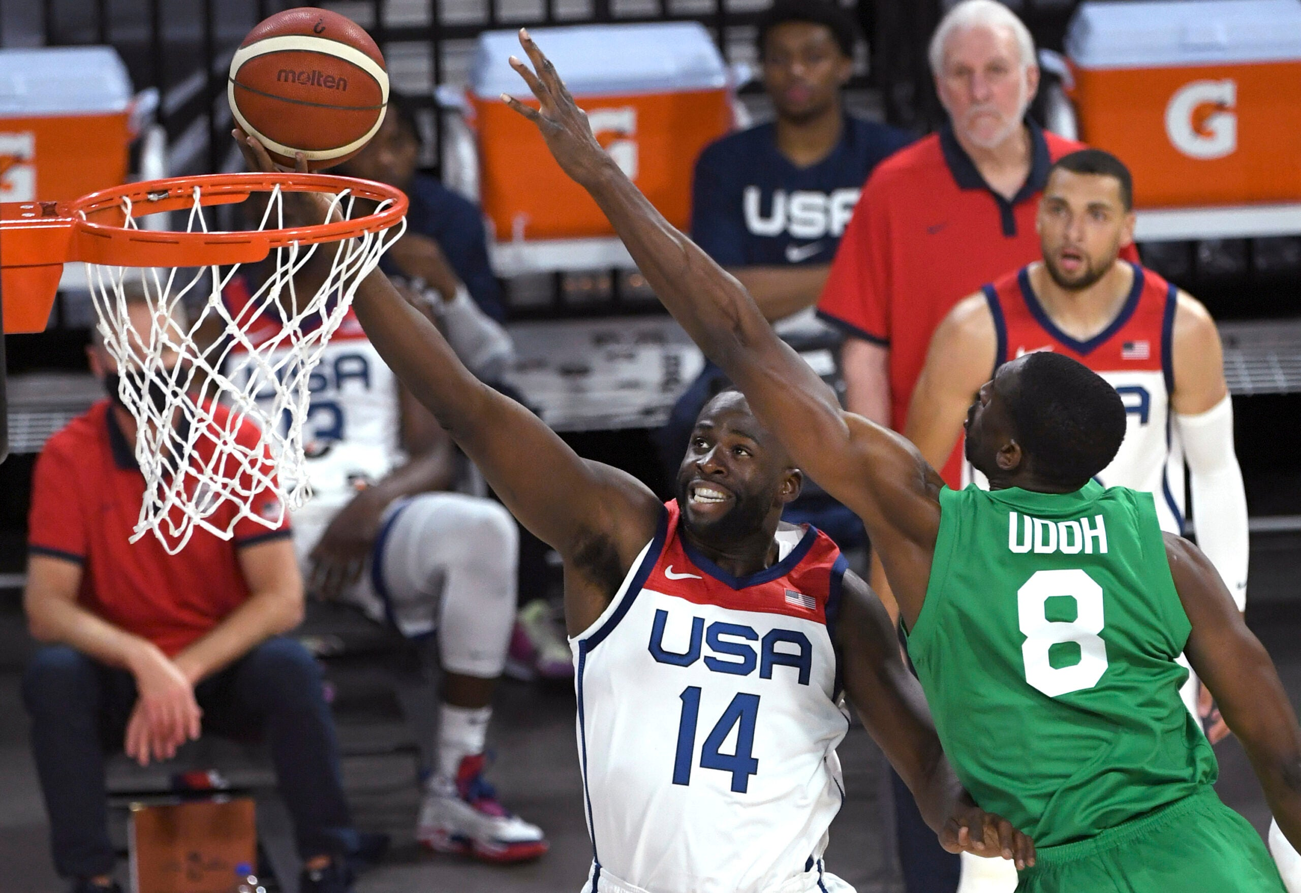 Nigeria Stuns U.S. Men's Basketball Team With 90-87 Upset Win in Olympic Exhibition Game