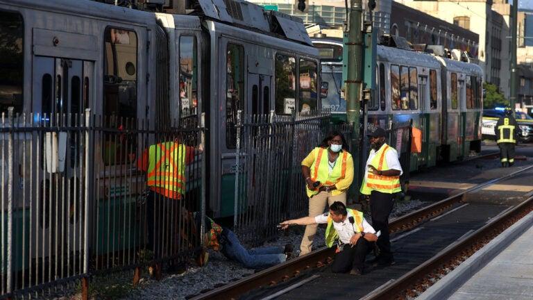 Green Line service restored following Friday night crash