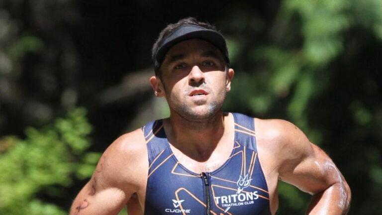 Damien Brosnan running