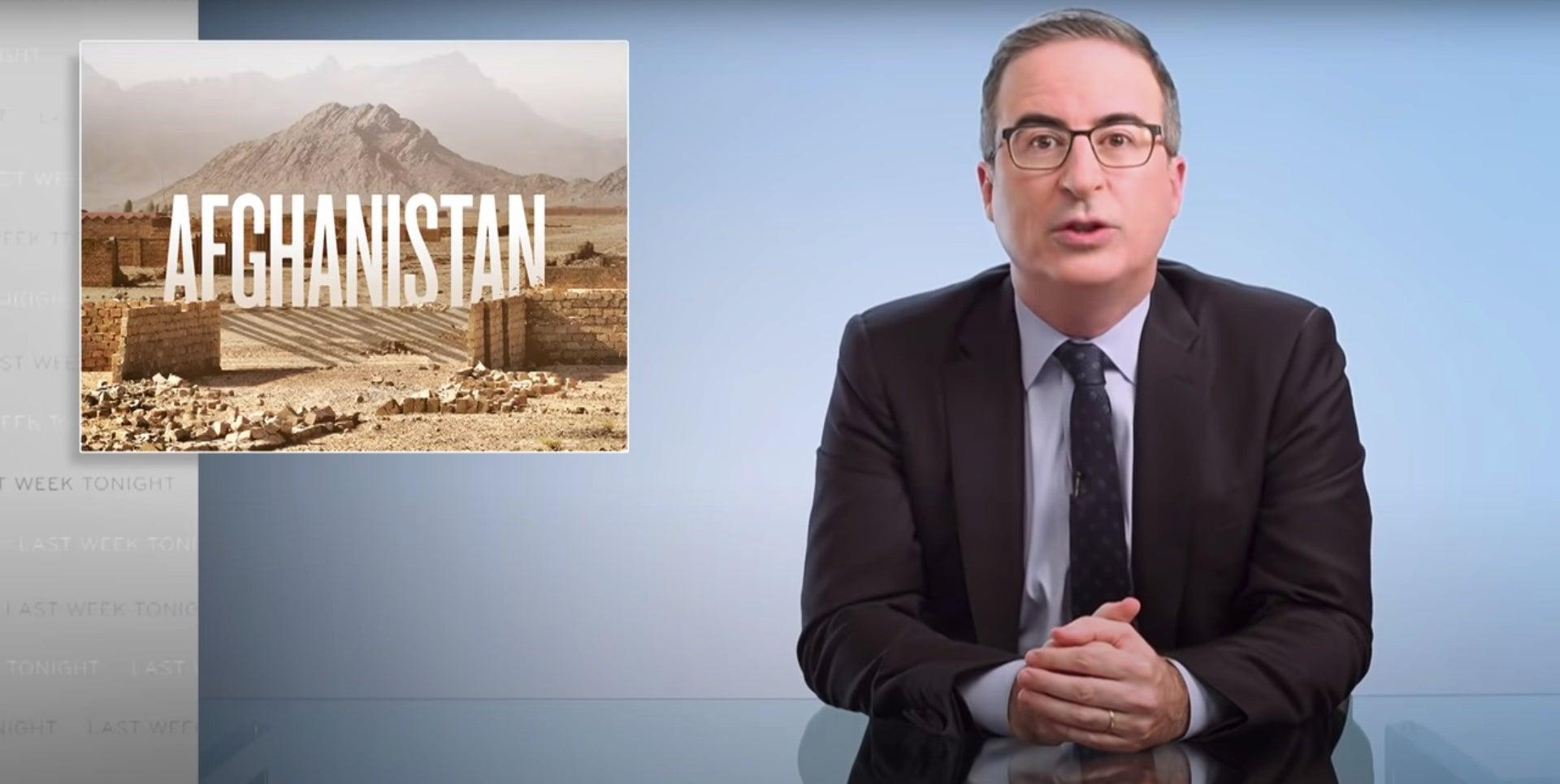 John Oliver Afghanistan