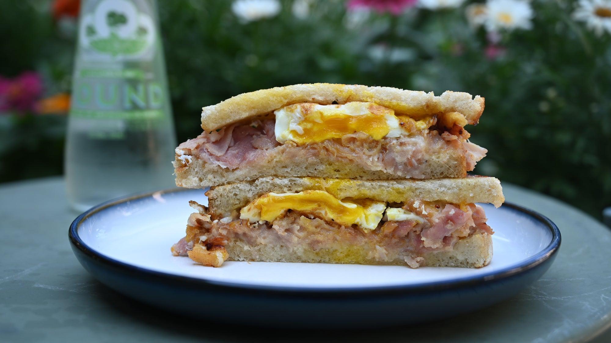 Breakfast sandwich at Mike & Patty's