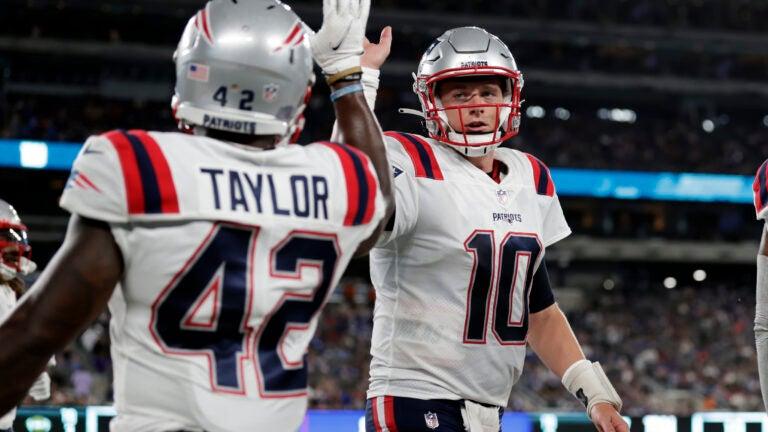 Patriots Mac Jones J.J. Taylor