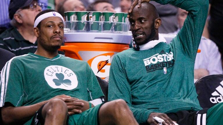 Kevin Garnett Paul Pierce Celtics