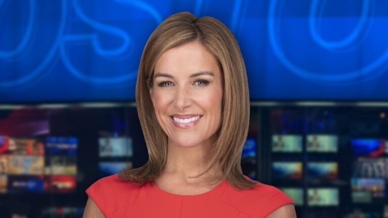 Boston 25 News anchor Sara Underwood