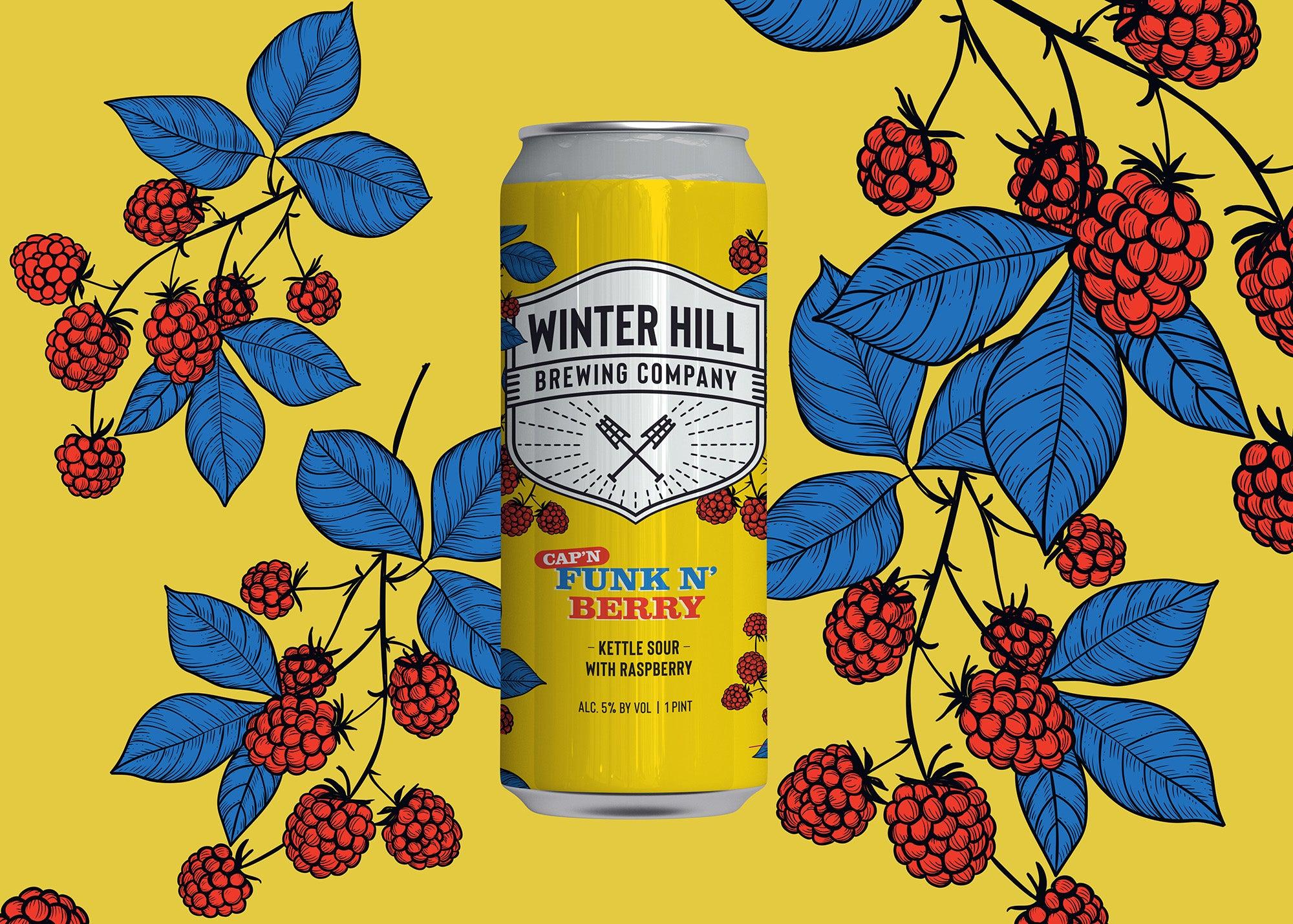 Cap'n Funk 'n' Berry at Winter Hill Brewing